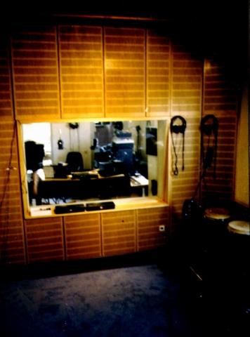 Alte Aufnahme aus dem Tonstudio von Wolfgang Gerhard.