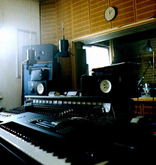 Das alte Studio von Camino de Lobo. Hier entstanden damals die neuesten Kompositionen.