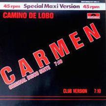 Plattencover: Carmen Disco Suite von Camino de Lobo (Wolfgang Gerhard))
